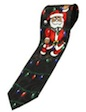 Santa Claus Necktie, Holiday necktie, Christmas neckties